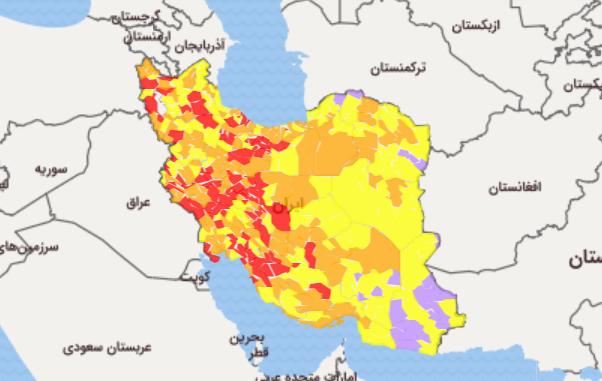 تهران قرمز شد/ «با یکی از سهمگینترین امواج کرونا مواجهیم»