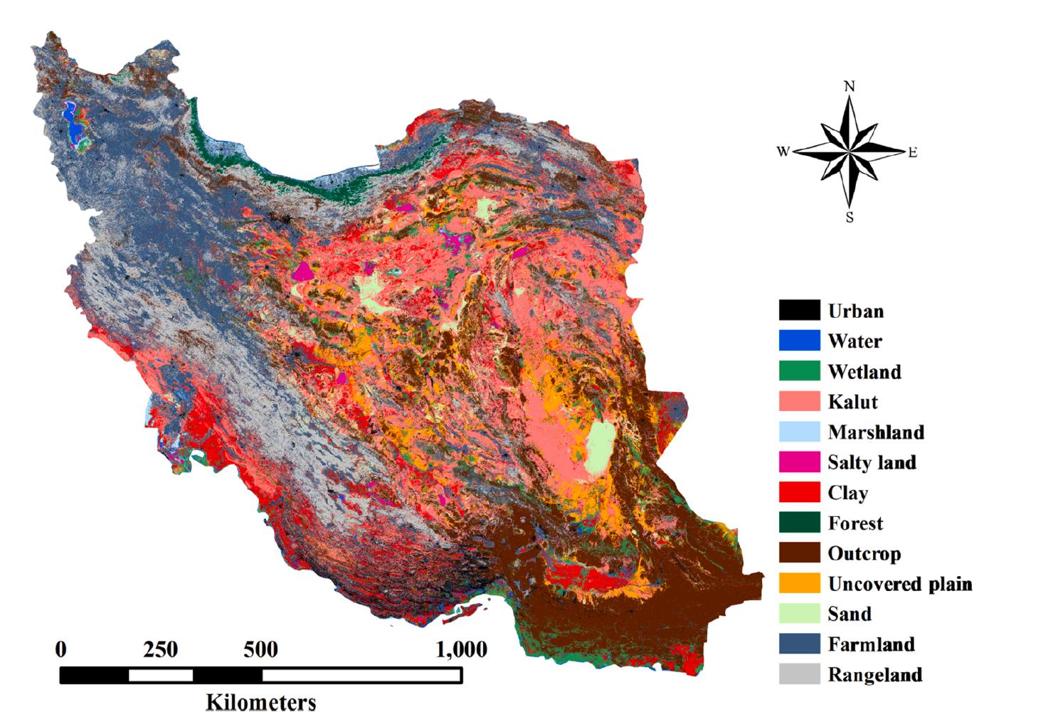 تخریب ۲۵درصد جنگلهای هیرکانی در ۶۰سال/ این تصاویر ماهوارهای را ببینید