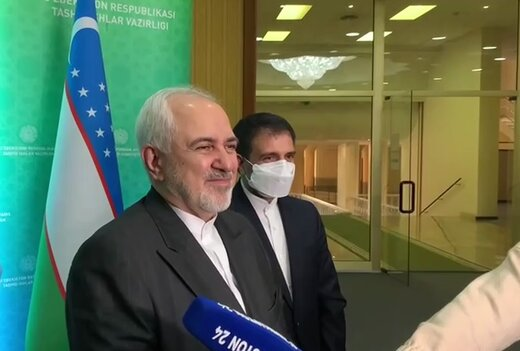 Iran can serve Uzbekistan with transit road to global markets: Zarif