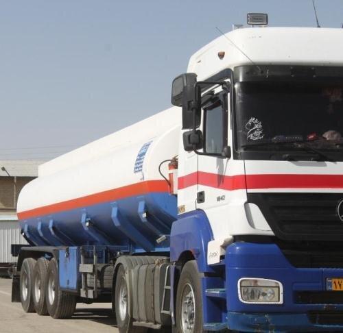 توقیف کامیون سوخت قاچاق در بویینزهرا