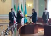 برنامه همکاری میان وزارت خارجه ایران و قزاقستان امضا شد