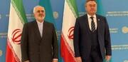 تاکید ایران و قزاقستان بر گسترش روابط دو کشور/عکس
