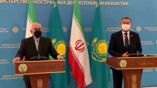 Many commonalities connect Iran, Kazakhstan: Zarif