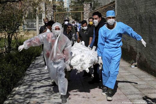 ببینید   آمار ترسناک مبتلایان کرونا در تهران