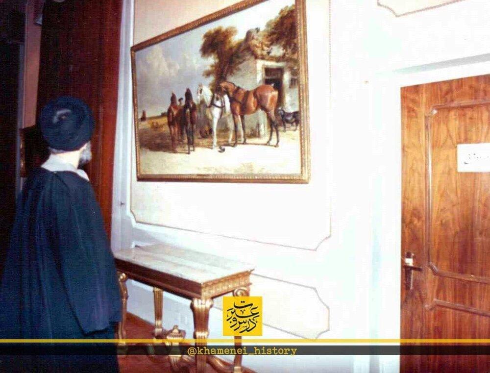 ببینید | افتتاح موزه هنرهای معاصر سعدآباد توسط رهبر انقلاب