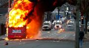 اعتراضات ایرلند وارد روز ششم شد؛ واکنش بوریس جانسون