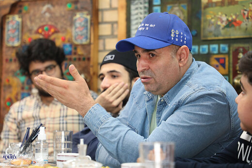 بازیگران سریال «نوروز رنگی» در کافه خبر خبرآنلاین