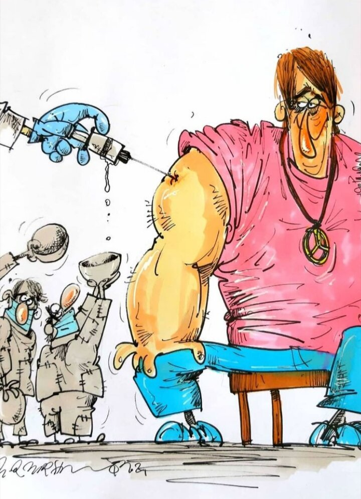 ببینید: بازم واکسن کرونا به پولدارها میرسه!