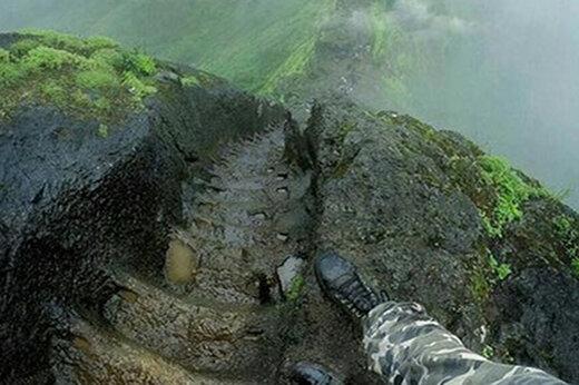 ببینید | یکی از خطرناکترین مکانهای طبیعی دنیا