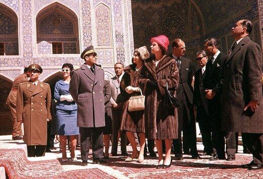 وقتی همسر ملکه انگلیس به تهران آمد