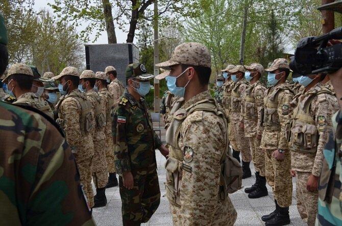 بازدید فرمانده کل ارتش از بیمارستان ارتش + عکس