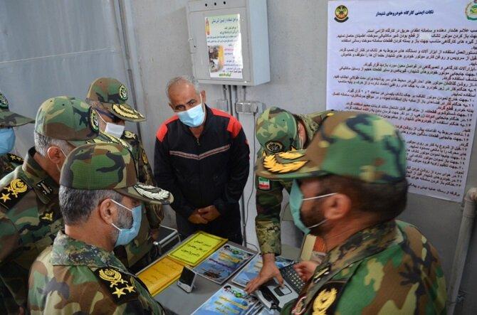 بازدید فرمانده کل ارتش از بیمارستان ارتش + عکس<br>