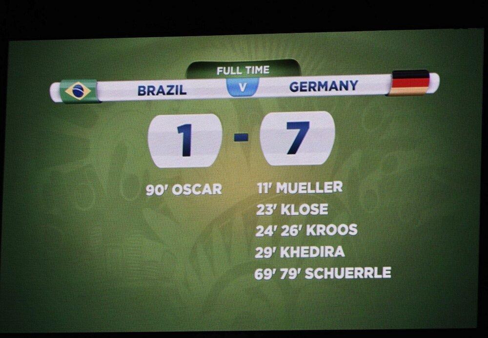 یکی از عجیبترین شبهای فوتبال/عکس