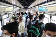 ببینید | وضعیت وسایل حمل و نقل عمومی در نخستین روز از تعطیلات ۱۰ روزه کرونایی