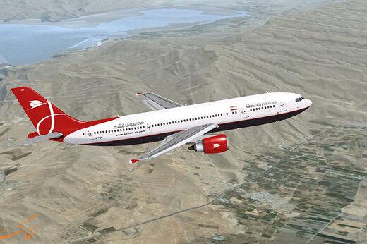 ببینید | ایستادن مسافران پرواز آبادان-مشهد در راهروی هواپیما به سبک اتوبوس شرکت واحد