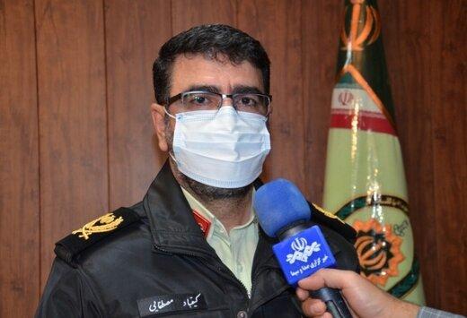 دستگیری یکی از قاتلین نزاع دسته جمعی مسلحانه پس از وقوع قتل در چرام