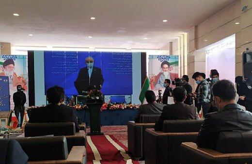افتتاح اورژانس سوانح و سوختگی بیمارستان امیرالمومنین(ع) اراک توسط رئیس جمهور