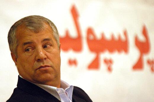 واکنش علی پروین به درگذشت جاسمیان/عکس