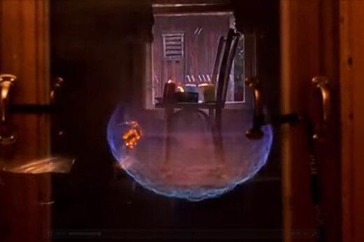 ببینید   ویدیویی از صحنه آهسته انفجار اتاق پر از گاز