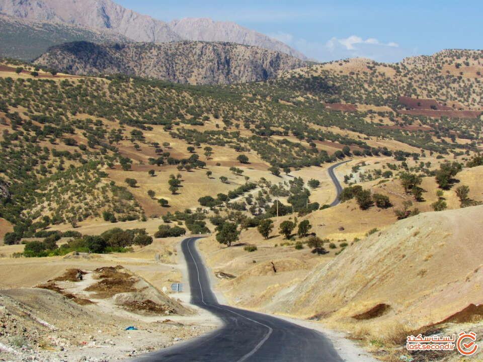جذابترین جاده های ایران برای جاده گردی