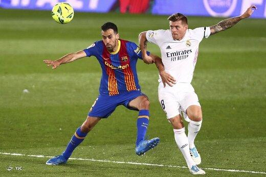 لالیگا اسپانیا / رئال مادرید ۲ - بارسلونا ۱