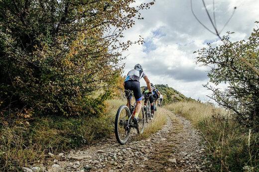 ببینید | تصاویر هیجانانگیز از دوچرخهسواری کوهستان