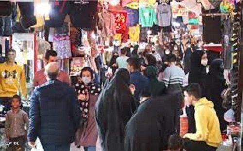 شرایط کرونایی امروز نتیجه سهلانگاریها در خریدهای شب عید است