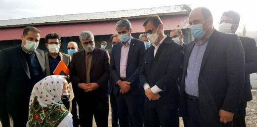 سفر معاون وزیر تعاون و مدیرعامل صندوق کارآفرینی امید به اردبیل