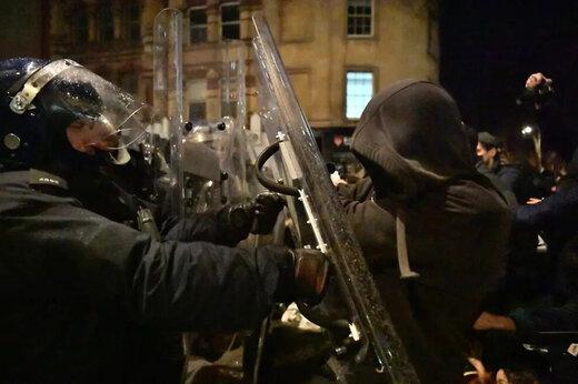 ببینید | گسترش دامنه اعتراضها به افزایش قدرت پلیس انگلیس