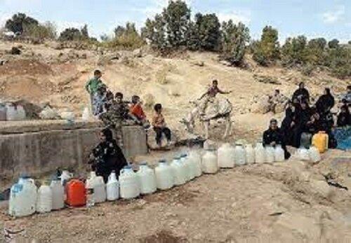 خبری خوش برای روستاهای کم آب خوسف/انتظارها برای تامین آب شرب به پایان رسید