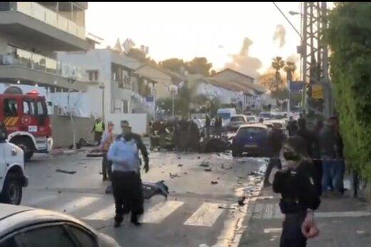 ببینید   انفجار یک دستگاه خودرو در تلآویو