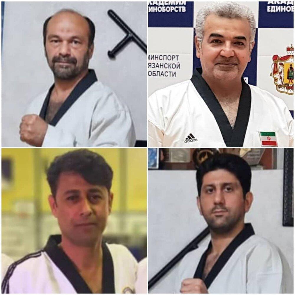 مجوز قضاوت در رویدادهای بین المللی برای نمایندگان تکواندو خوزستان صادر شد