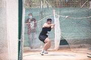 نایب قهرمانی پرتابگر چکش آذربایجانغربی در مسابقات بینالمللی مشهد