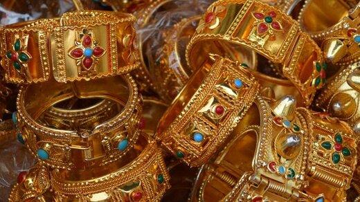 ثبت پایینترین رقم قیمت طلا طی ۱ ماه گذشته
