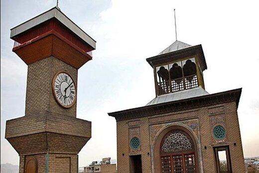 ناقوس ساعت هدیه ملکه انگلیس در تهران به صدا درآمد