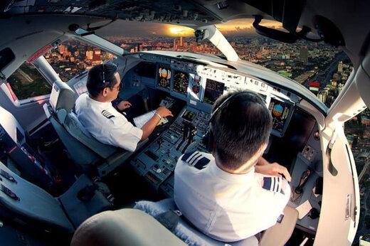 ببینید | غزل خوانی خلبان در حین پرواز