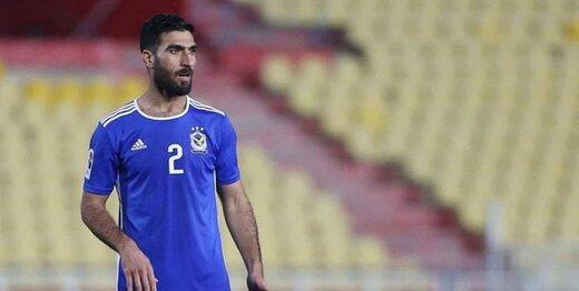بازیکن رقیب تراکتور بازداشت شد