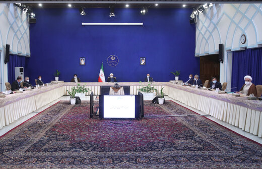 روحانی:جهت گیری اقتصاد کشور در سال جدید پشتیبانی از تولید است