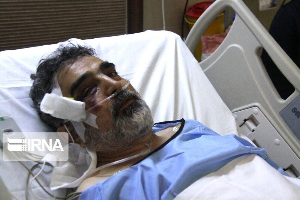 کمالوندی به دلیل سقوط از ارتفاع در نطنز راهی بیمارستان شد:بیدی نیستیم که با این بادها بلرزیم/عکس