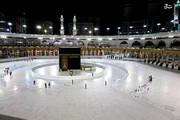 ببینید | تصویر خانه خدا در نخستین روز ماه مبارک رمضان در عربستان