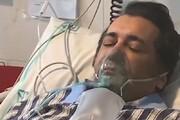 ببینید | مراسم عجیب ترخیص یک سلبریتی از ICU با کف و سوت و کیک!