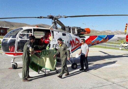 رتبه نخست پایگاه اورژانس هوایی الیگودرز در کشور
