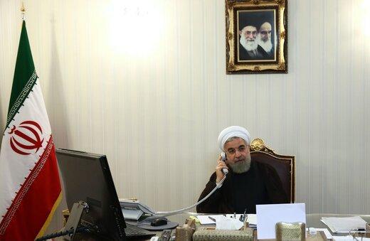 روحانی به امیر قطر: نظامی گری در منطقه نمی تواند مشکلات را حل کند