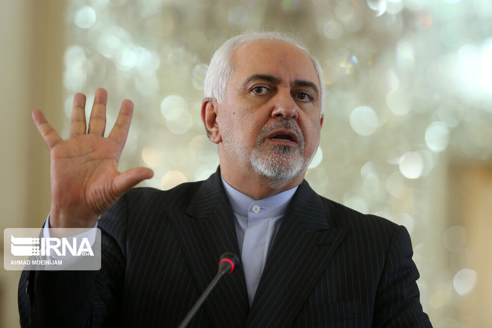 Zarif rebukes US for embracing sanctions and sabotage acts