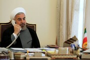جزئیات گفتگوی مهم روحانی و رئیس جمهور عراق