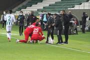 ببینید | افطار بازیکنان فوتبال در جریان مسابقه