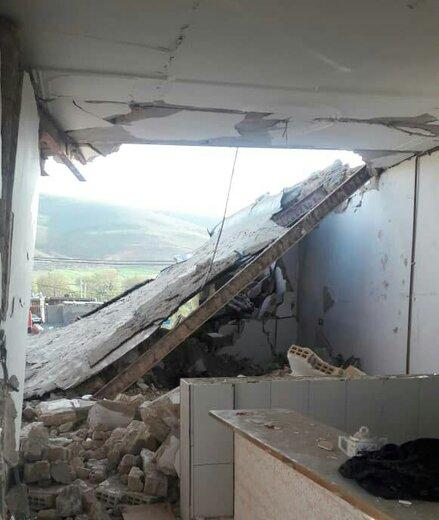 انفجار منزل مسکونی در روستای سرنمک بخش بیرانوند یک کشته و شش مجروح بر جا گذاشت
