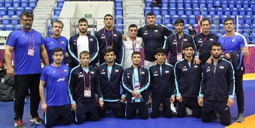 کشتی فرنگی قهرمانی آسیا/ایران با 9 مدال رنگارنگ قهرمان شد