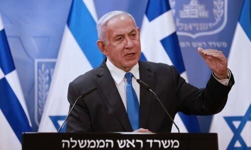 واکنش نتانیاهو به حملات موشکی مقاومت از غزه