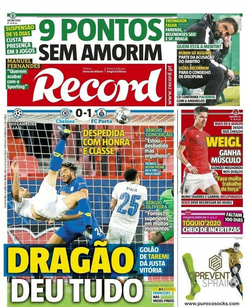 روزنامههای پرتغال در تسخیر طارمی/عکس
